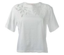 T-Shirt mit Cut-Outs - women