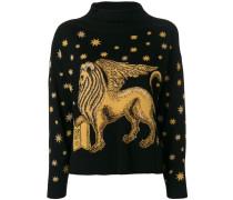 Pullover mit Löwen-Motiv