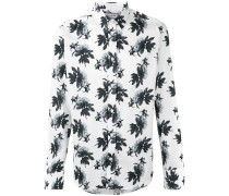 Hemd mit Blumen-Print - men - Baumwolle - XXL