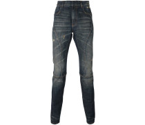 Jeans in Distressed-Optik - men
