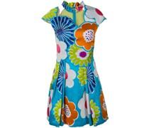 Florales Kleid mit angeschnittenen Ärmeln