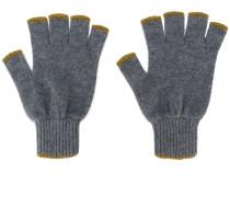 Fingerlose Kaschmirhandschuhe