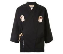 A BATHING APE® 'Ninja Kimono' Hemd