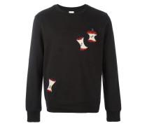 Sweatshirt mit Apelschalen-Patch