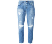 'Josie' Jeans in Distressed-Optik