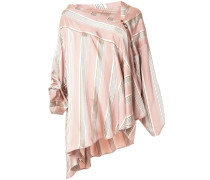 asymmetric triangle blouse