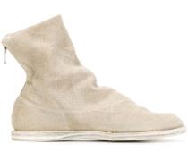Flache Stiefel mit Reißverschluss
