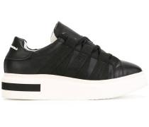 Flatform-Sneakers mit Kontrastsohle - women