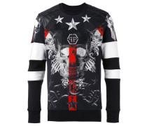 Sweatshirt mit Totenkopf-Print - men