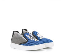 Monster slip-on sneakers