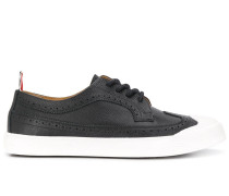brogue detail low-top sneakers