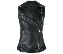 - sleeveless 'Rider jacket - women