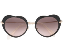 Herzförmige Sonnenbrille - women