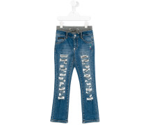 Jeans in Distressed-Optik - kids