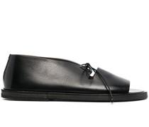 Zehenfreie Derby-Schuhe