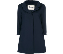 flared single breasted coat