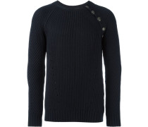- Gerippter Pullover - men - Acryl/Wolle - 50
