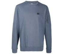 crew neck logo sweatshirt