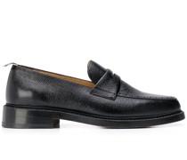 Penny-Loafer aus gekörntem Leder