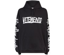 World Tour printed hoodie