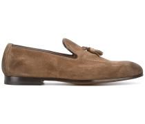 Wildleder-Loafer mit Quasten - men - Leder