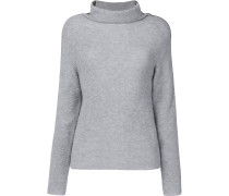 tubular neck sweater