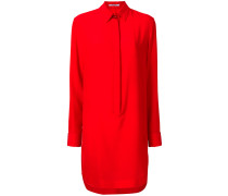 concealed placket shirt dress - Unavailable