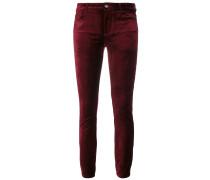 skinny velvet trousers
