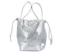 chainmail mini bucket bag