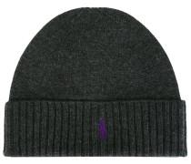 Wollmütze mit Logo