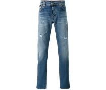 Jeans in Distressed-Optik - men