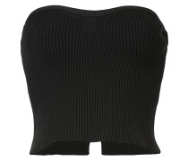 ribbed bustier