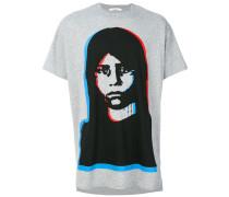 T-Shirt mit Gesichtsprint
