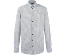 Gepunktetes Hemd - men - Baumwolle - 44