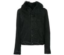 faux-fur trim jacket