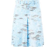 x Fornasetti Shorts mit Fisch-Print - men