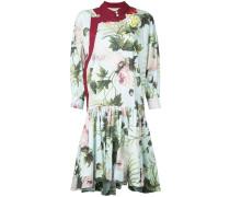Kleid mit Blumen-Print - women - Baumwolle - 42