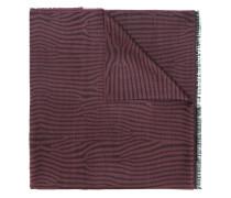 Schal mit Zebramuster