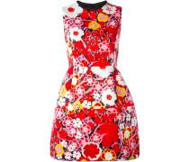 A-Linien-Kleid mit Blumenmuster - women