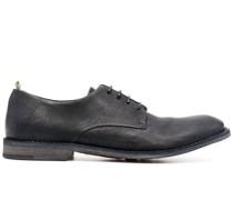Derby-Schuhe aus strukturiertem Leder