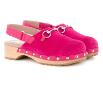 Clogs mit Horsebit-Spange - kids