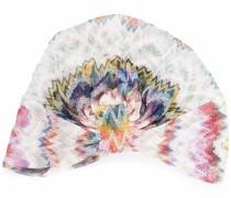 Turban mit abstraktem Print