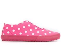 Gepunktete Slip-On-Sneakers