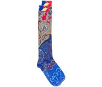Socken mit Paisley-Print