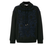 embroidered hoodie
