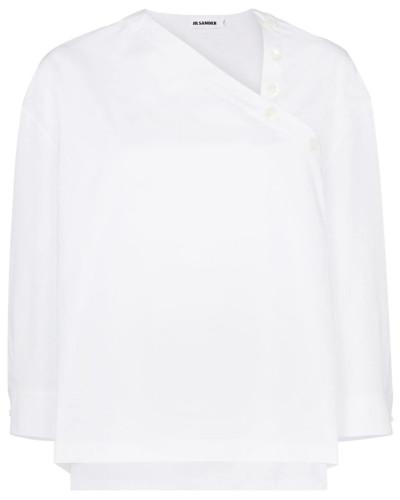 Hemd mit asymmetrischem Ausschnitt