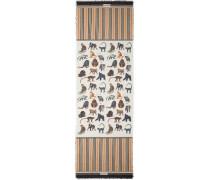 Schal mit Affen-Print
