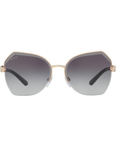 Sonnenbrille mit facettierten Gläsern