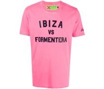 """T-Shirt mit """"Ibiza vs Formentera""""-Print"""