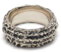 Breiter Ring mit Prägung